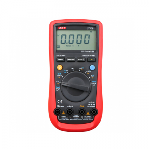 Multimetro Digital 1000V AC/DC 40 MOH UT109