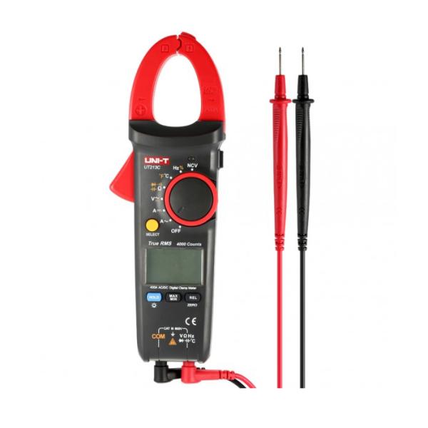 Pinza Voltiamperimetrica Digital 400 A
