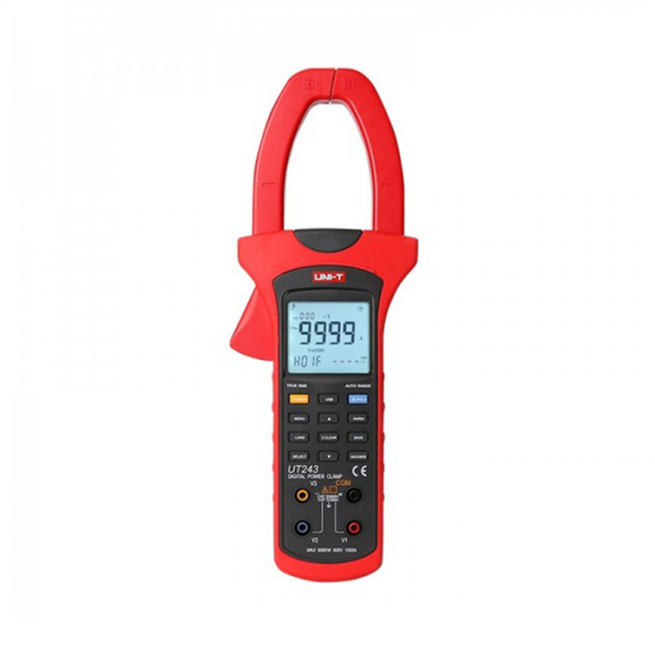 Pinza amperimétrica diseñada para medir voltaje AC UT243