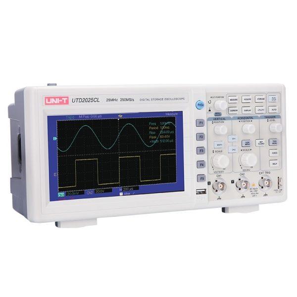 Osciloscopio Digital Para Banco 25 MHz